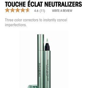 YSL Touchette Eclat neutralizing concealer, green